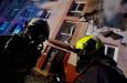 Exploze bytu v Ostravě